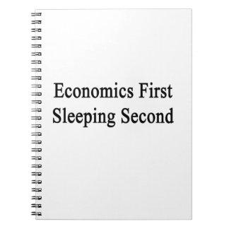 Segundo primero el dormir de la economía libro de apuntes