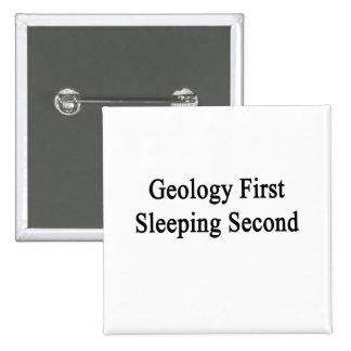 Segundo primero el dormir de la geología pins