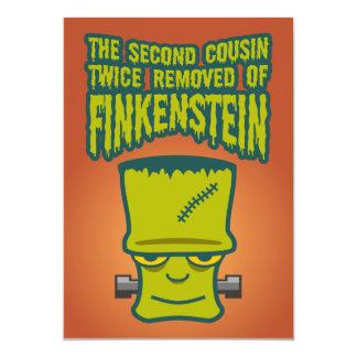 """Segundo primo quitado dos veces de Finklestein Invitación 5"""" X 7"""""""