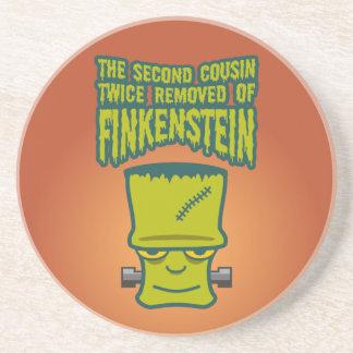 Segundo primo quitado dos veces de Finklestein Posavasos Cerveza