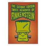 Segundo primo quitado dos veces de Finklestein Tarjeton