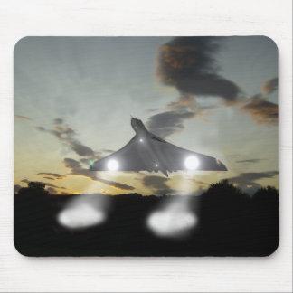 Segundos de Vulcan del momento del aterrizaje Tapete De Ratones