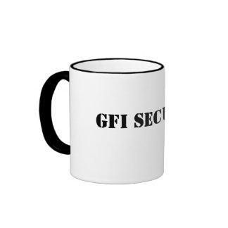 Seguridad blanca clásica de Mug_ GFI Taza A Dos Colores