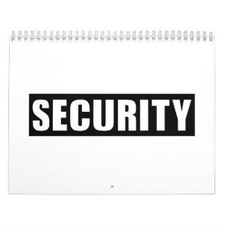Seguridad Calendario