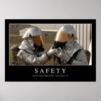 Seguridad: Cita inspirada Póster