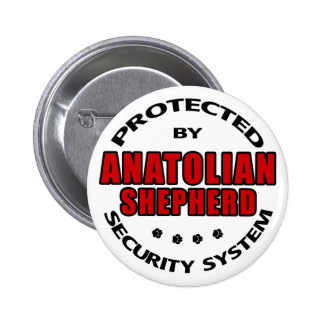 Seguridad de Anatolia del pastor Pin Redondo De 2 Pulgadas