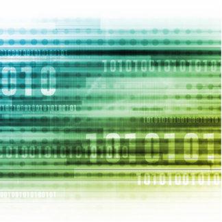 Seguridad de datos sobre el Internet y el Info Adorno Fotoescultura