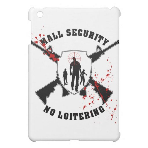 Seguridad de la alameda del zombi