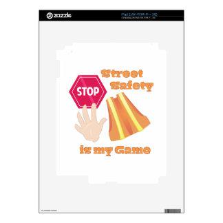 Seguridad de la calle calcomanías para iPad 2