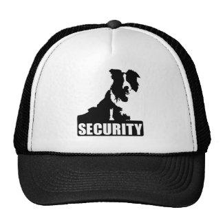 Seguridad de la frontera (collie) gorros bordados
