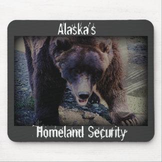 Seguridad de la patria de Alaska Tapetes De Raton