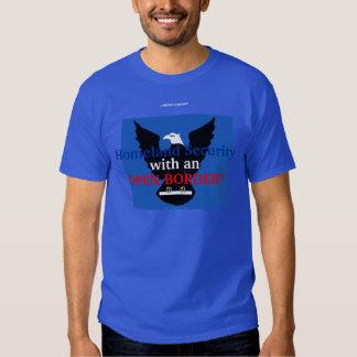 ¿Seguridad de patria con una FRONTERA ABIERTA? Camisas