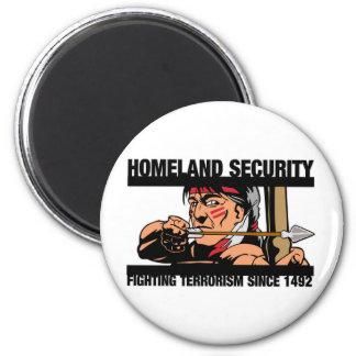 Seguridad de patria iman de frigorífico