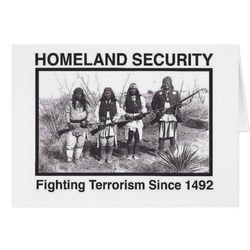 Seguridad de patria india de la foto blanca tarjeta