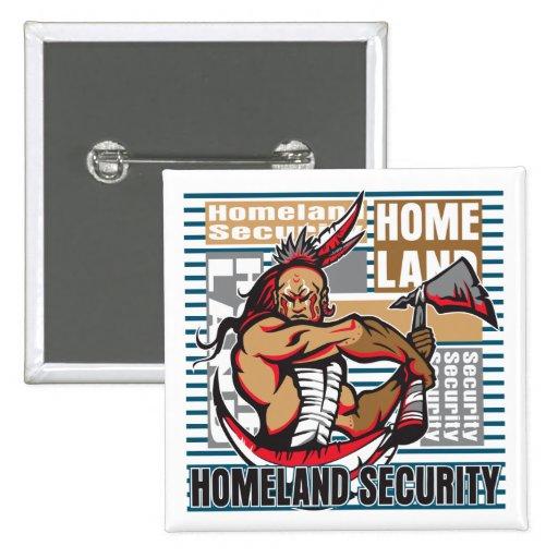 Seguridad de patria india pin