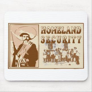 Seguridad de patria mexicana tapete de ratón