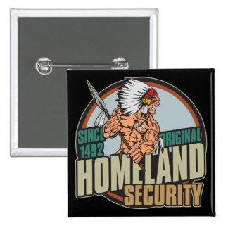 Seguridad de patria original pins