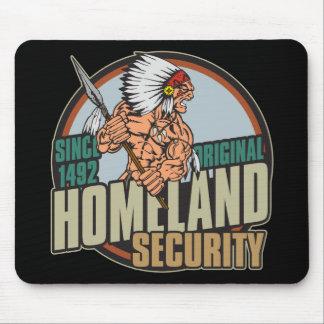 Seguridad de patria original alfombrilla de raton