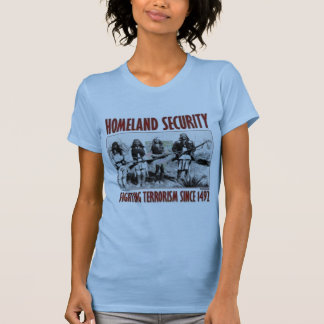 seguridad de patria camiseta