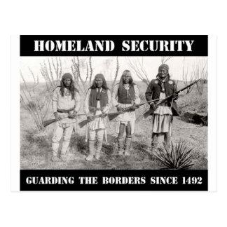 SEGURIDAD de PATRIA que guarda las fronteras desde Tarjetas Postales