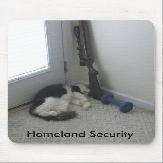 Seguridad de patria tapete de raton