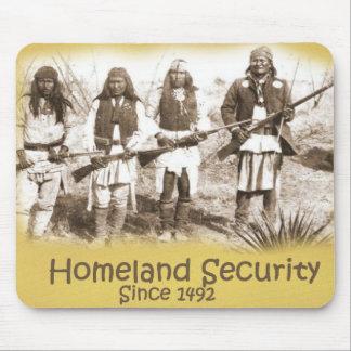 Seguridad de patria alfombrilla de raton