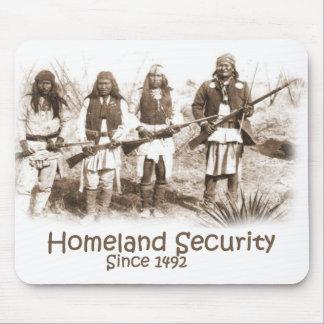 Seguridad de patria alfombrilla de ratones