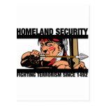 Seguridad de patria tarjeta postal