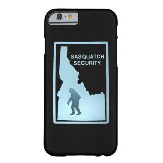 Seguridad de Sasquatch - Idaho Funda De iPhone 6 Barely There