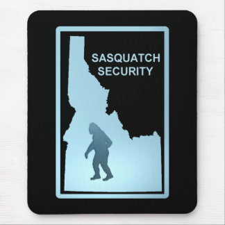 Seguridad de Sasquatch - Idaho Alfombrilla De Raton