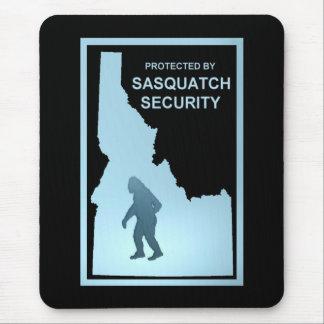 Seguridad de Sasquatch - Idaho Tapete De Ratones