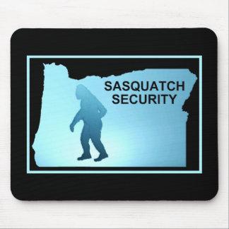 Seguridad de Sasquatch - Oregon Tapete De Ratones