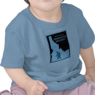 Seguridad de Sasquatch Camisetas