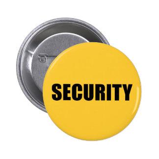 Seguridad del acontecimiento pin redondo de 2 pulgadas