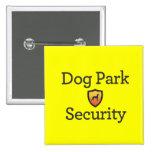 Seguridad del parque del perro pins