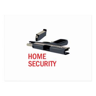 Seguridad en el hogar postales