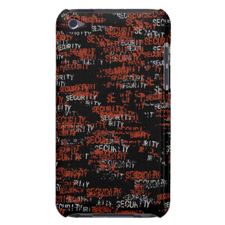Seguridad en rojo Case-Mate iPod touch protectores
