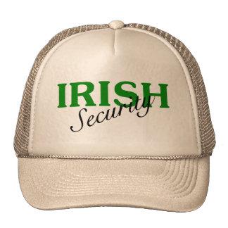 Seguridad irlandesa gorra