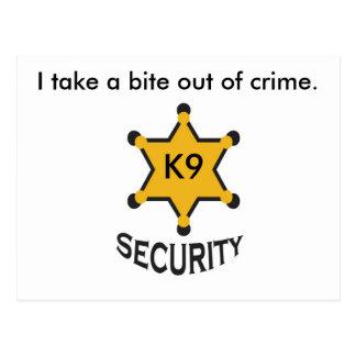 seguridad k9 postal