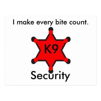 Seguridad K9 Postales