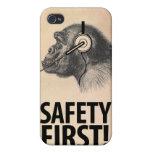 ¡Seguridad primero! iPhone 4 Carcasa