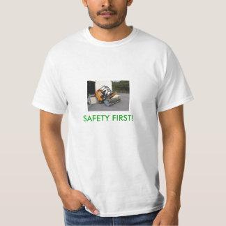 ¡Seguridad primero! Remera