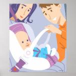 Seguridad Seat del niño Impresiones