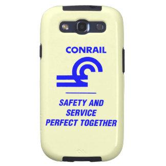 Seguridad y servicio de Conrail Galaxy S3 Fundas