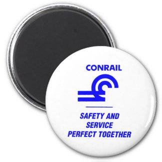 Seguridad y servicio de Conrail perfectos junto Imán Redondo 5 Cm