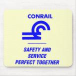 Seguridad y servicio de Conrail perfectos junto Tapete De Ratones