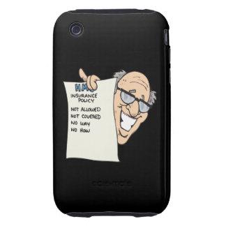 Seguro médico iPhone 3 tough protector