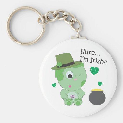Seguro… Soy irlandés Llaveros