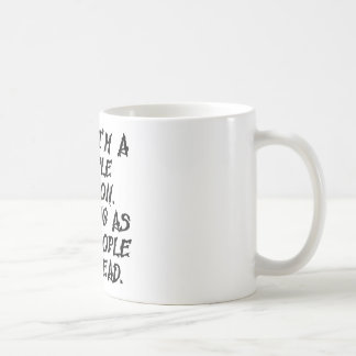 Seguro soy una persona de la gente de largo pues s taza básica blanca