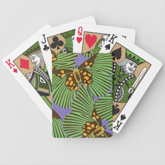 Séguy's Art Deco Butterflies Bicycle Playing Cards